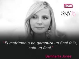 Samantha Jones, personaje de la serie Sex and the city. Foto tomada de internet