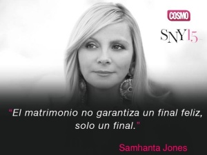 Samantha Jones, personaje de la serie Sex and the city. Foto tomada de internet